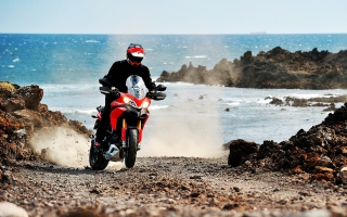 Ducati Multistrada 1200 Picture for Android, iPhone and iPad