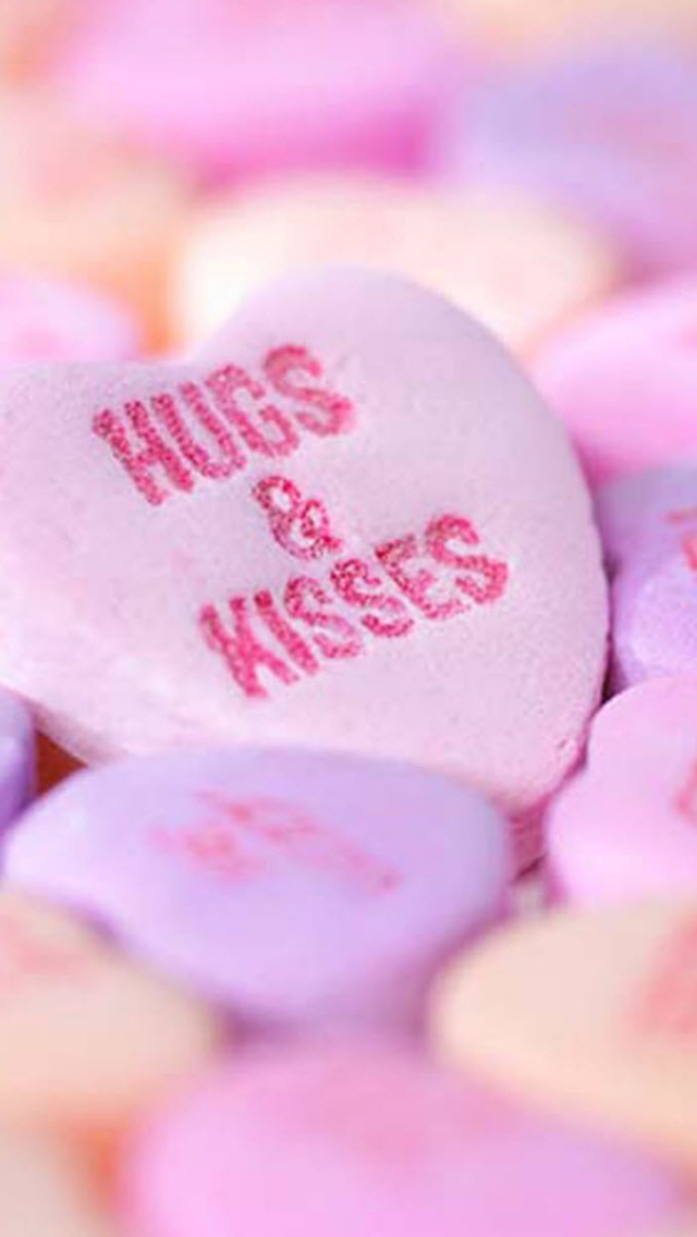 Hugs And Kisses wallpaper 640x1136