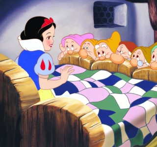 Обои Snow White and the Seven Dwarfs для iPad mini
