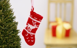 Free Christmas Stocking Picture for Android, iPhone and iPad