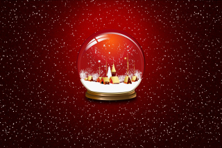 Christmas Souvenir Ball Background for 960x854