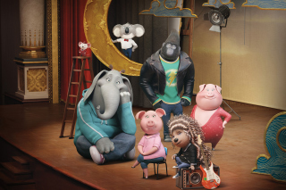 Sing Cartoon with Animals Wallpaper for Android, iPhone and iPad