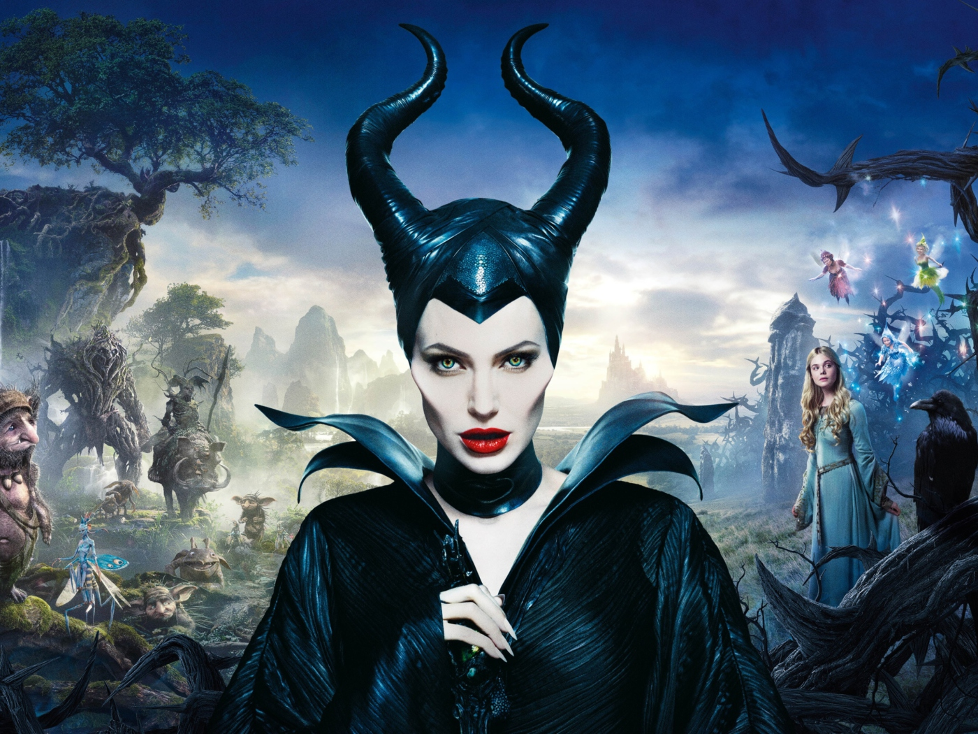 Screenshot №1 pro téma Angelina Jolie In Maleficent 1400x1050