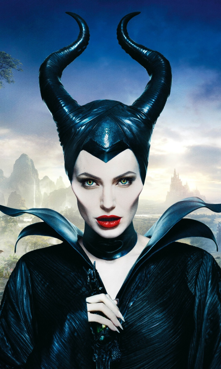 Screenshot №1 pro téma Angelina Jolie In Maleficent 768x1280