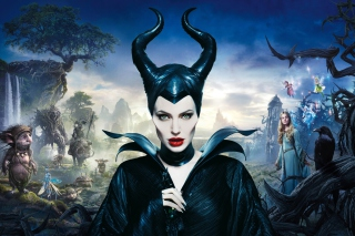 Angelina Jolie In Maleficent papel de parede para celular para Samsung Galaxy S6 Active