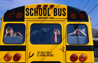 School Bus Picture for Android, iPhone and iPad