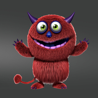 Red Evil Monster sfondi gratuiti per iPad 3