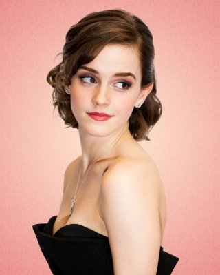 Free Emma Watson Lady Style Picture for Nokia C1-01