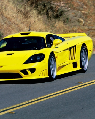 Saleen S7 Background for Nokia X1-00