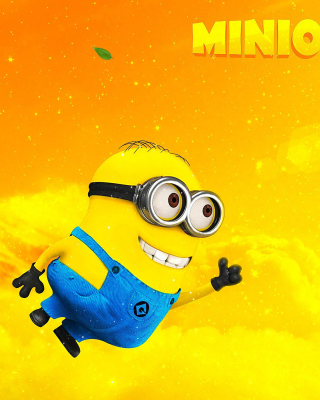 Flying Minion Wallpaper for Nokia C1-00