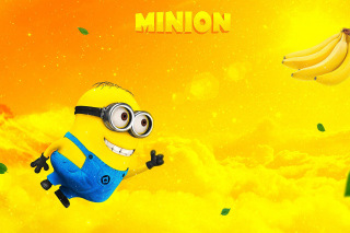 Flying Minion Background for Android, iPhone and iPad