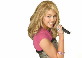 Miley Cyrus in Hannah Montana Background for Android, iPhone and iPad