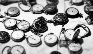 Vintage Pocket Watches Picture for Android, iPhone and iPad