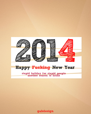 Happy New Year 2014 Holiday - Fondos de pantalla gratis para 640x1136