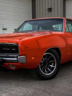 Screenshot №1 pro téma 1969 Dodge Charger 240x320