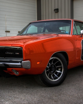 1969 Dodge Charger Picture for Nokia Asha 311