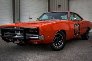 1969 Dodge Charger Picture for Samsung Galaxy Tab 4