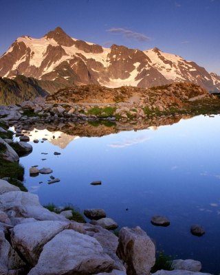 Mount Shuksan at Sunset - Washington Picture for Nokia C-5 5MP