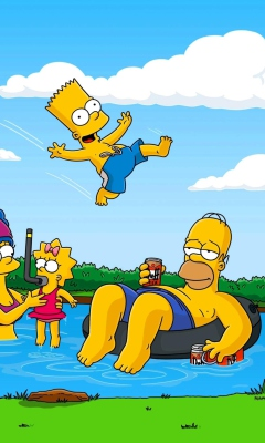 Simpsons for Samsung SGH-T528G