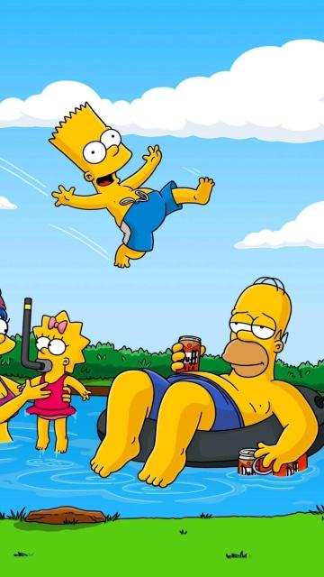 Simpsons for Nokia C5-05