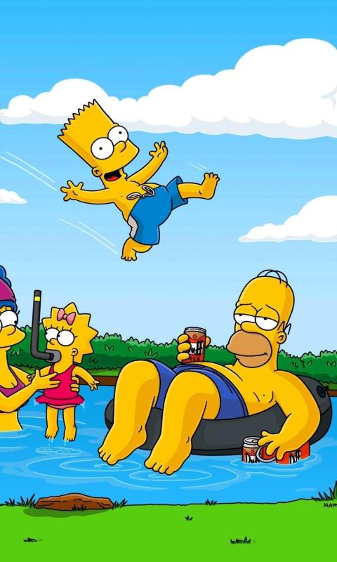 Simpsons per Nokia Lumia 800