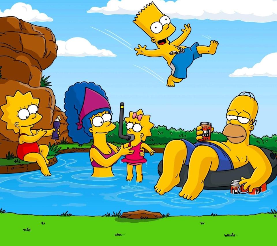 Simpsons para Sony Ericsson XPERIA Neo V