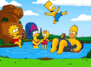 Simpsons Background for Android, iPhone and iPad