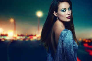 Olivia Wilde 2013 Background for Android, iPhone and iPad