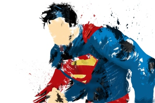 Superman Digital Art Background for Android, iPhone and iPad