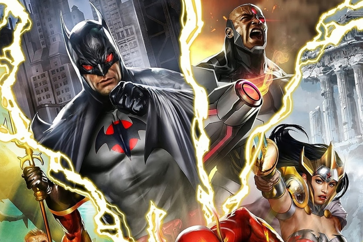 Justice League: The Flashpoint Paradox wallpaper