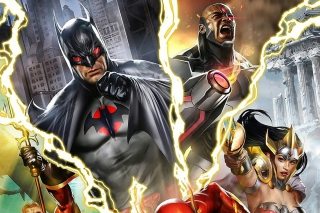 Justice League: The Flashpoint Paradox - Obrázkek zdarma pro Widescreen Desktop PC 1600x900