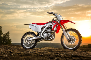 Honda CRF250R Background for 480x320