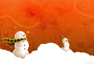 Free Snowman Picture for Samsung Galaxy A