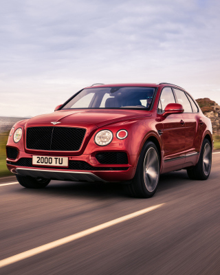 Bentley Bentayga Luxury V8 SUV - Fondos de pantalla gratis para HTC Touch Diamond CDMA