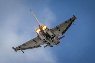 Typhoon Aircraft Background for Android, iPhone and iPad