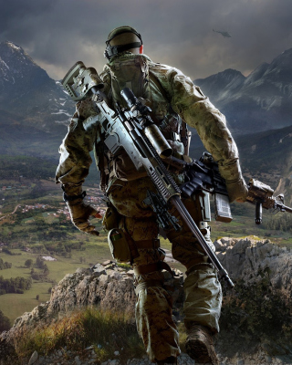 Sniper Ghost Warrior 3 Background for Nokia X6