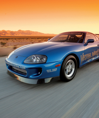 Free Toyota Supra Picture for iPhone 6 Plus