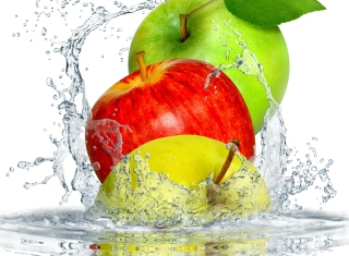 Apple Splash Wallpaper for Android, iPhone and iPad
