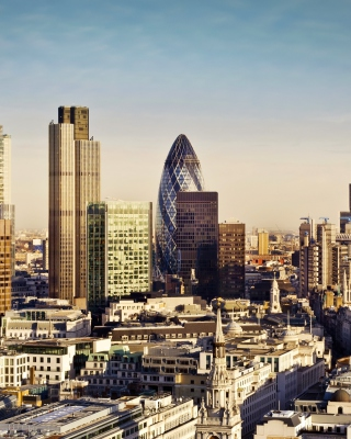 Free London Skyscraper District with 30 St Mary Axe Picture for iPhone 6 Plus