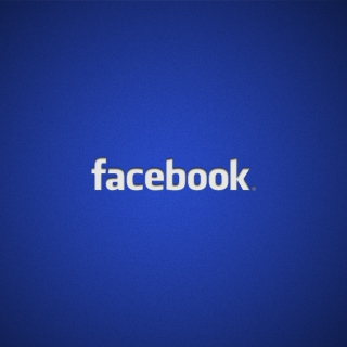 Facebook Logo Background for iPad Air