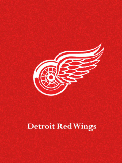 Screenshot №1 pro téma Detroit Red Wings 240x320