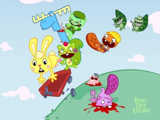 Happy Tree Friends Background for Android, iPhone and iPad