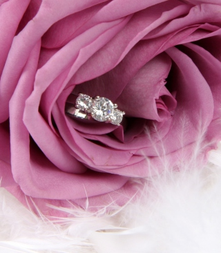 Free Engagement Ring In Pink Rose Picture for Nokia C5-06