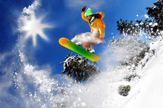 Free Snowboard Freeride Picture for Android, iPhone and iPad