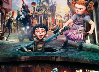 The Boxtrolls Wallpaper for HTC Desire HD
