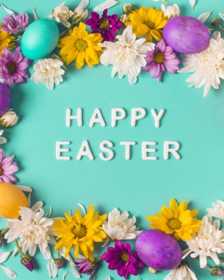 Happy Easter Celebrate Background for 176x220
