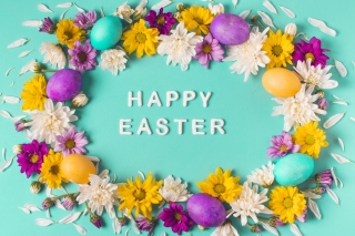 Happy Easter Celebrate Background for Widescreen Desktop PC 1680x1050