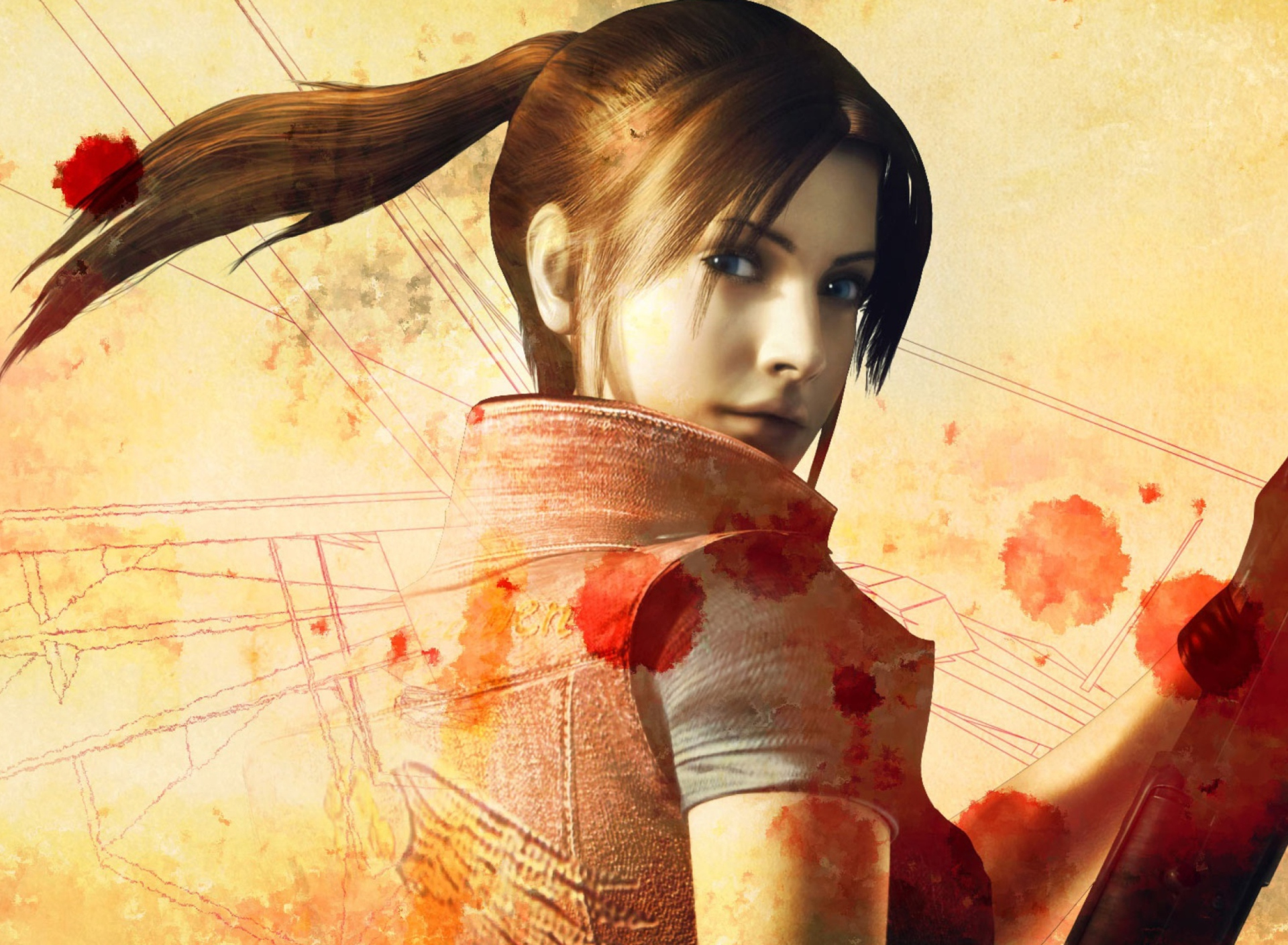 Screenshot №1 pro téma Resident Evil Claire Redfield 1920x1408