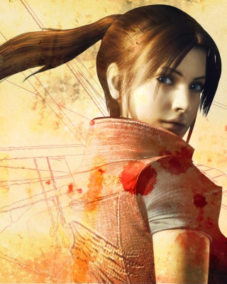Resident Evil Claire Redfield sfondi gratuiti per iPhone 5