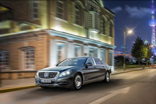Mercedes Maybach S600 2016 Wallpaper for Android, iPhone and iPad